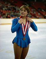 Elizabeth Manley Canada Canadian Championships 1981. Photo copyright Scott Grant