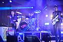 FORT LAUDERDALE, FL - SEPTEMBER 01: Luke Spiller, Gethin Davies and Jed Elliott of The Struts perform live on stage at Revolution Live on September 1, 2021 in Fort Lauderdale, Florida.  ( Photo by Johnny Louis / jlnphotography.com )