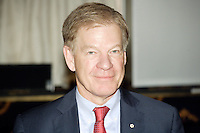 Montreal (QC) CANADA - June 14 2011 - Rick George, President & CEO of Suncor Energy, at the Canadian Club of Montreal's podium