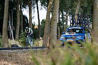 Kanza Malik (PAK)<br /> <br /> Women Elite Individual Time Trial from Knokke-Heist to Bruges (30.3 km)<br /> <br /> UCI Road World Championships - Flanders Belgium 2021<br /> <br /> ©kramon