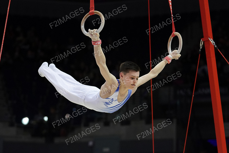 British Championships 2019. Saturday Men's under 16. & WAG Senior all-around