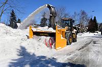 Deneigement<br />  a Laval<br /> <br /> <br /> PHOTO :  Agence Quebec Presse