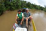 Patrick Laird & Guide, Rio Tiputini