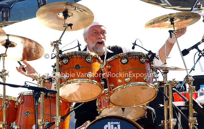Mick Fleetwood performs live at The Love Ride 19 at Castaic Lake, California on November 10,2002.Photo by RockinExposures