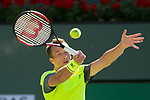 March 16, 2018: Philipp Kohlschreiber (GER) defeated by Juan Martin Del Potro (ARG) 3-6, 6-3, 6-4 in Wells Tennis Garden in Indian Wells, California. ©Mal Taam/TennisClix/CSM