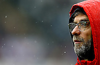 Liverpool manager Jurgen Klopp during the Barclays Premier League match between Swansea City and Liverpool played at the Liberty Stadium, Swansea on 1st May 2016