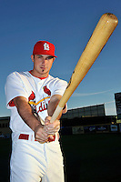 Mar 01, 2010; Jupiter, FL, USA; St. Louis Cardinals  catcher Charlie Cutler (81) during  photoday at Roger Dean Stadium. Mandatory Credit: Tomasso De Rosa/ Four Seam Images