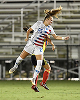 Lakewood Ranch, FL - Wednesday, October 10, 2018:   Natalia Staude during a U-17 USWNT match against Colombia.  The U-17 USWNT defeated Colombia 4-1.