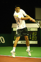 18-2-06, Netherlands, tennis, Rotterdam, ABNAMROWTT, Quallifying round, Novak Djokovic