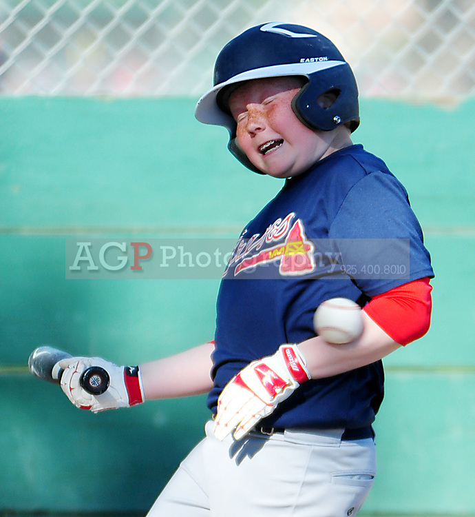 2012 AAA Braves Action at the Sports Park in Pleasanton, Wednesday May 16, 2012. (Photo by Alan Greth/AGP Photography)
