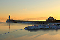 """Reflections and Shadows at Sunrise""<br />