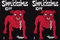 Simplicissimus - A Satirical Weekly, 1897