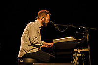 LONDON, ENGLAND - SEPTEMBER 13: Johnny McDaid of 'Snow Patrol' performing at The Palladium on September 13, 2021 in London, England.<br /> CAP/MAR<br /> ©MAR/Capital Pictures