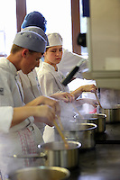 Pictured: Cooking. Tuesday 23 September 2014<br /> Re: Cardiff and Vale College, Barry Campus.