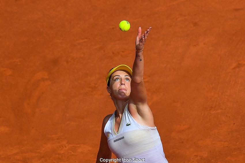 Anastasia PAVLYUCHENKOVA of Russia during the tenth round of Roland Garros tennis open at Roland Garros in Paris, France on Saturday, 12 June, 2021. Photo by Baptiste Fernandez / Icon Sport