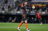26th May 2021; STADION GDANSK GDANSK, POLAND; UEFA EUROPA LEAGUE FINAL, Villarreal CF versus Manchester United:  Manchester United's goalkeeper DAVID DE GEA radies to take his penalty shoot out kick