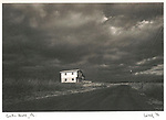 Vintage scan from mounted print. 1972 Union County, PA. Rural home.