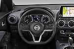 Car pictures of steering wheel view of a 2020 Nissan Juke 5 Door SUV Steering Wheel