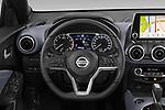 Car pictures of steering wheel view of a 2020 Nissan Juke 5 Door SUV Steering Wheel