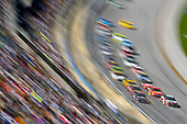 Monster Energy NASCAR Cup Series<br /> GEICO 500<br /> Talladega Superspeedway, Talladega, AL USA<br /> Sunday 7 May 2017<br /> Denny Hamlin, Joe Gibbs Racing, FedEx Express Toyota Camry and Kyle Busch, Joe Gibbs Racing, Skittles Red, White, & Blue Toyota Camry<br /> World Copyright: Nigel Kinrade<br /> LAT Images<br /> ref: Digital Image 17TAL1nk07004