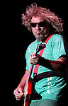 Sammy Hagar and the Wabos perform at the Harveys Outdoor Arena in Stateline, Nev., on Saturday, Sept. 10, 2011. .Photo by Cathleen Allison