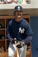 New York Yankees Don Mattingly during spring training circa 1989 at Ed Smith Stadium in Sarasota, Florida.  (MJA/Four Seam Images)