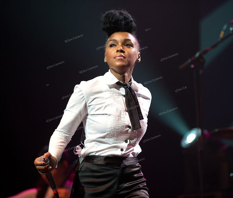 Janelle Monáe at The Centre for Performing Arts.