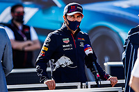 29th April 2021; Algarve International Circuit, in Portimao, Portugal; F1 Grand Prix of Portugal, driver and team arrival and inspection day;  PEREZ Sergio (mex), Red Bull Racing Honda RB16B