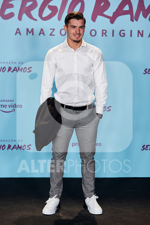 "Brahim Diaz attends to ""El Corazon De Sergio Ramos"" premiere at Reina Sofia Museum in Madrid, Spain. September 10, 2019. (ALTERPHOTOS/A. Perez Meca)"