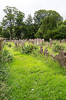 Lanercost Priory, Cumbria, England, UK.  Cemetery, Anglican Church of Mary Magdalene.