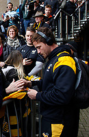 Photo: Richard Lane/Richard Lane Photography. Wasps v Leicester Tigers. Aviva Premiership. Semi Final. 20/05/2017. Wasps' Danny Cipriani arrives.