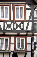 Bad Wimpfen: Fachwerk facade.