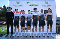 NZ Cycling Project team. The opening ceremony of the NZ Cycle Classic UCI Oceania Tour at Queen Elizabeth Park in Masterton, New Zealand on Tuesday, 14 January 2020. Photo: Dave Lintott / lintottphoto.co.nz