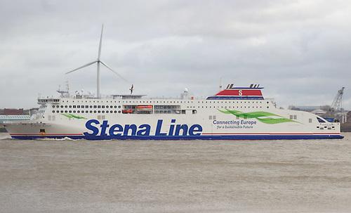 File image of Stena Edda in Liverpool