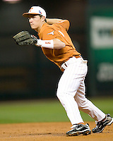 NCAA Baseball featuring the Texas Longhorns against the Missouri Tigers. Etier, Jordan 3549  at the 2010 Astros College Classic in Houston's Minute Maid Park on Sunday, March 7th, 2010. Photo by Andrew Woolley