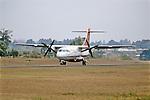 Malawi Jet Taxiing At Mzuzu Airport