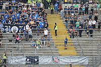 Statement der FSV Fans zu ihrer Insolvenz - 06.08.2017: Eintracht Frankfurt vs. FSV Frankfurt, Saisoneröffnung, Commerzbank Arena