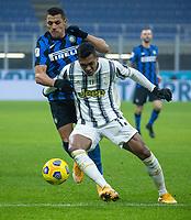 inter-juventus - Milano 2 febbraio 2021 - semifinale coppa italia - nella foto: alex sandro e sanchez