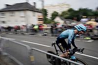 Hugo Houle (CAN/Astana-Premier Tech)<br /> <br /> Stage 5 (ITT): Time Trial from Changé to Laval Espace Mayenne (27.2km)<br /> 108th Tour de France 2021 (2.UWT)<br /> <br /> ©kramon