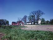0722-001.  Illinois agricultural scene, 1940s,