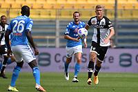 Andreas Cornelius of Parma Calcio 1913 in action during the Serie A football match between Parma Calcio 1913 and SSC Napoli at Ennio Tardini stadium in Parma (Italy), September 20th, 2020. Photo Andrea Staccioli / Insidefoto
