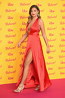 Zara McDermott<br /> arriving for the ITV Palooza at the Royal Festival Hall London<br /> <br /> ©Ash Knotek  D3444  16/10/2018