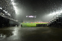 12th May 2021; Fort Lauderdale, Miami, USA;  A heavy storm blows in which causes a game delay during the second half of the Inter Miami CF match against CF Montreal on May 12, 2021 at DRV PNK Stadium.