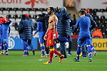 FIFA 2014 World Cup Qualifier - Wales v Croatia - Swansea - 26th March 2013 :  Wales football Captain Ashley Williams trudges off the field.