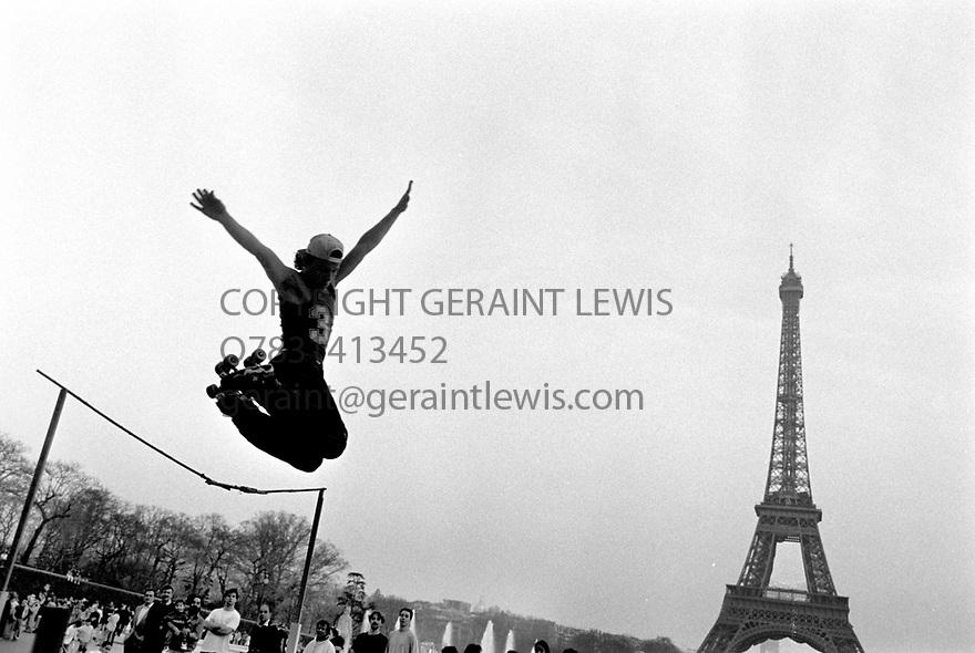 Paris 2002. CREDIT Geraint Lewis