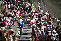 Rudy Molard (FRA/Groupama-FDJ) up the Tourmalet (HC/2115m/19km @7.4%)<br /> <br /> Stage 14: Tarbes to Tourmalet(117km)<br /> 106th Tour de France 2019 (2.UWT)<br /> <br /> ©kramon