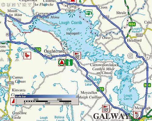 Cong-Galway Lough Corrib Racecourse