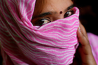Rita, age 34, has worked in the red light area of the Bharatpur Highway in Rajasthan since she was 14...