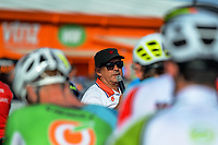 Race organiser Jorge Sandoval. The 2018 NZ Cycle Classic UCI Oceania Tour pre-tour criterium at Mitre 10 Mega in Masterton, New Zealand on Tuesday, 16 January 2018. Photo: Dave Lintott / lintottphoto.co.nz