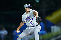 Winston-Salem Dash relief pitcher Will Kincanon (27) in action against the Myrtle Beach Pelicans at TicketReturn.com Field on May 16, 2019 in Myrtle Beach, South Carolina. The Dash defeated the Pelicans 6-0. (Brian Westerholt/Four Seam Images)